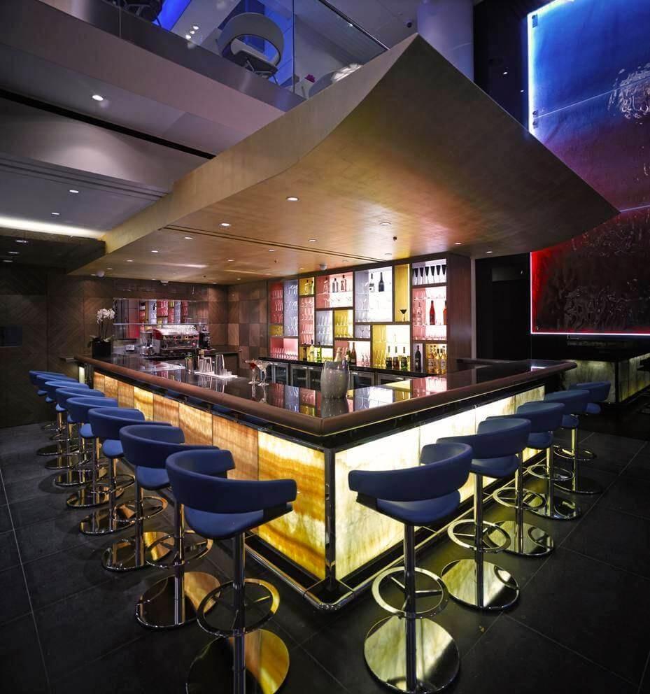 spectrum bar and caf south bank london. Black Bedroom Furniture Sets. Home Design Ideas