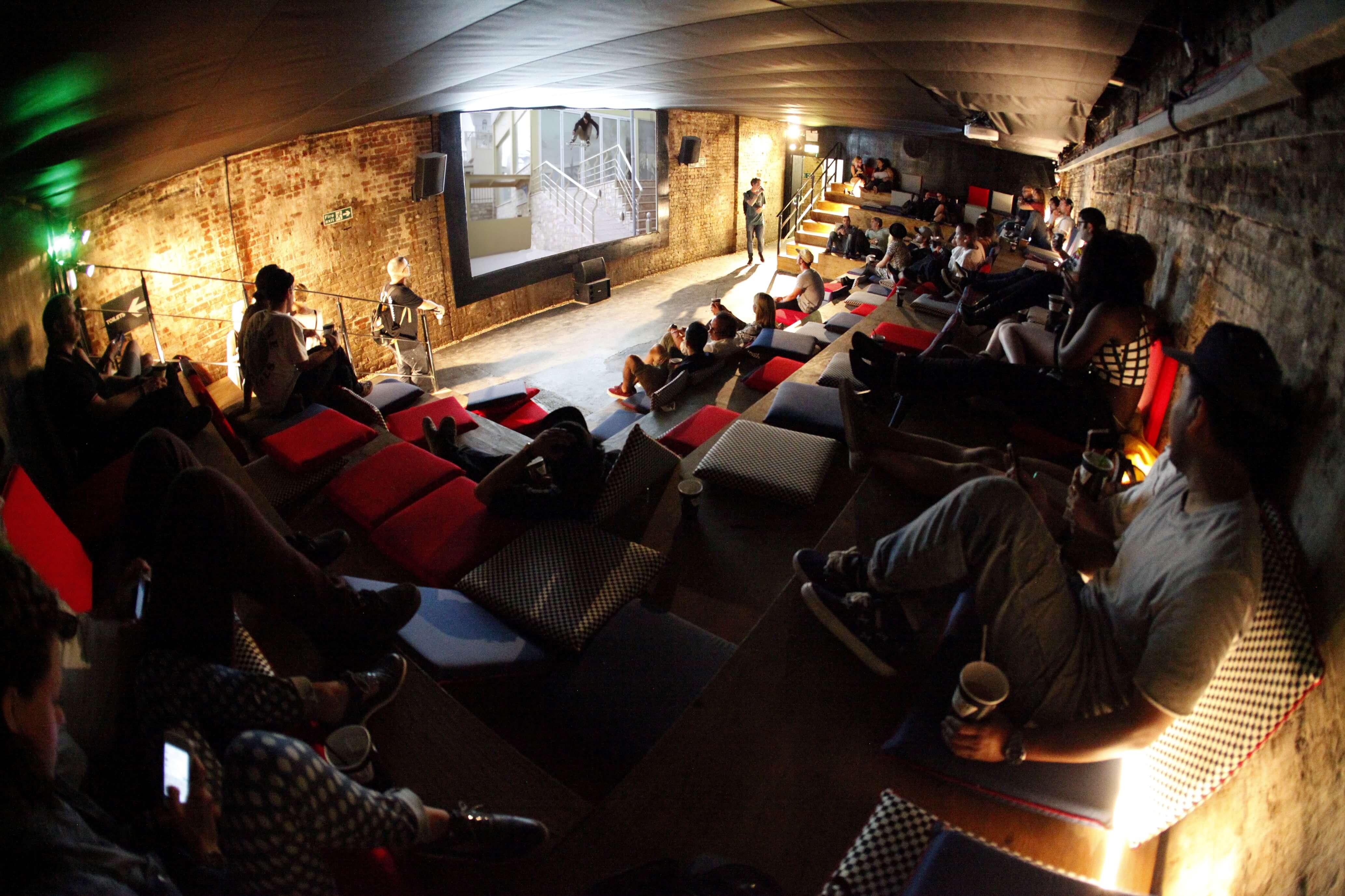 hot sales 34ef0 3dd24 House of Vans Free Cinema