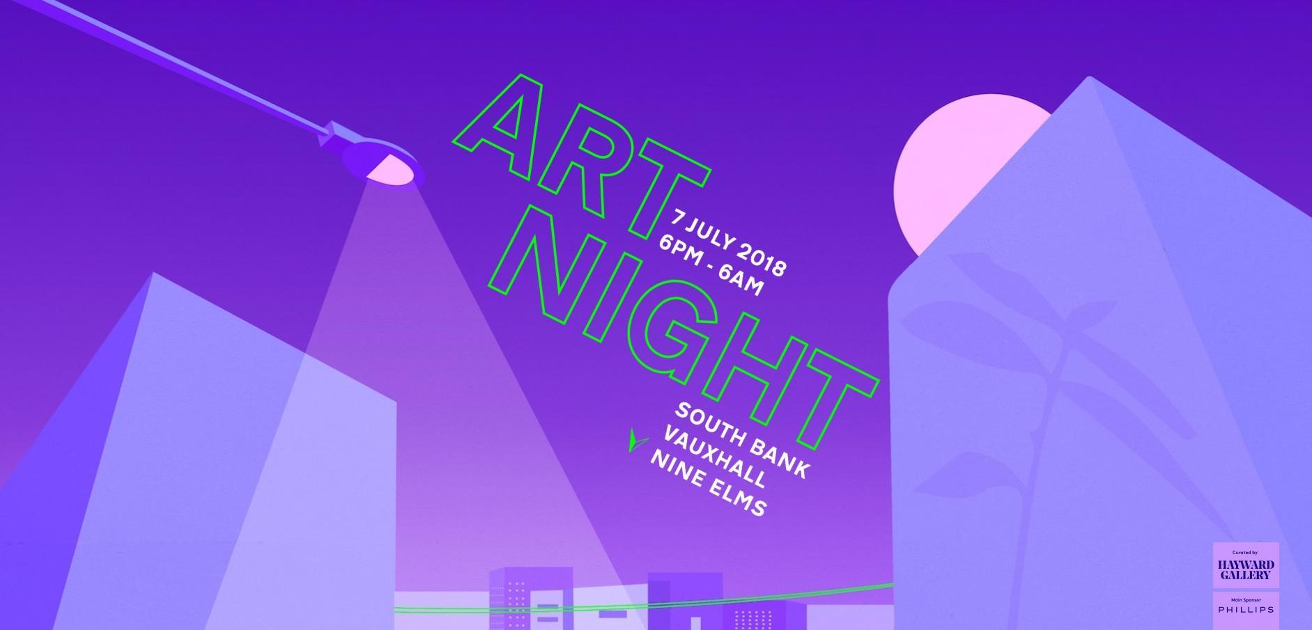Image result for art night london 2018