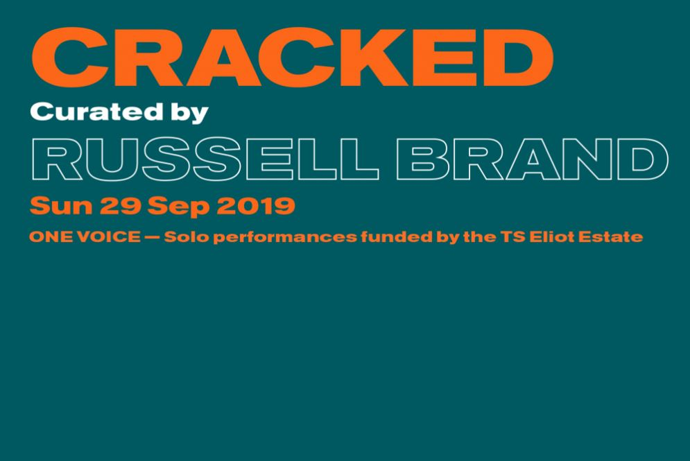 Cracked by Russell Brand | South Bank London